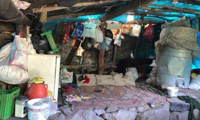 13 yıldır çadırdan bozma evde yaşayan ailede çocuklar okula bile gidemiyor