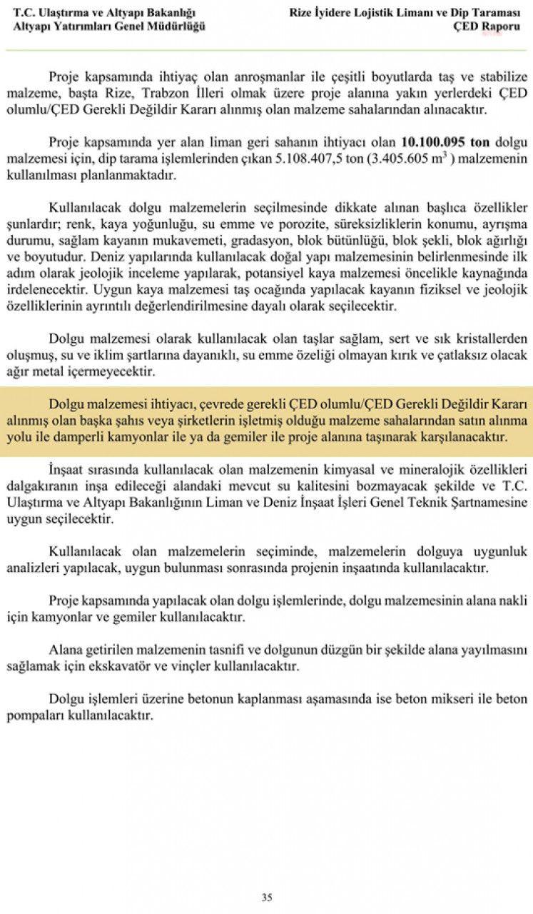 CHP'li Öztunç: İkizdere'deki ÇED raporu resmi belgede sahteciliğe girmiyor mu?
