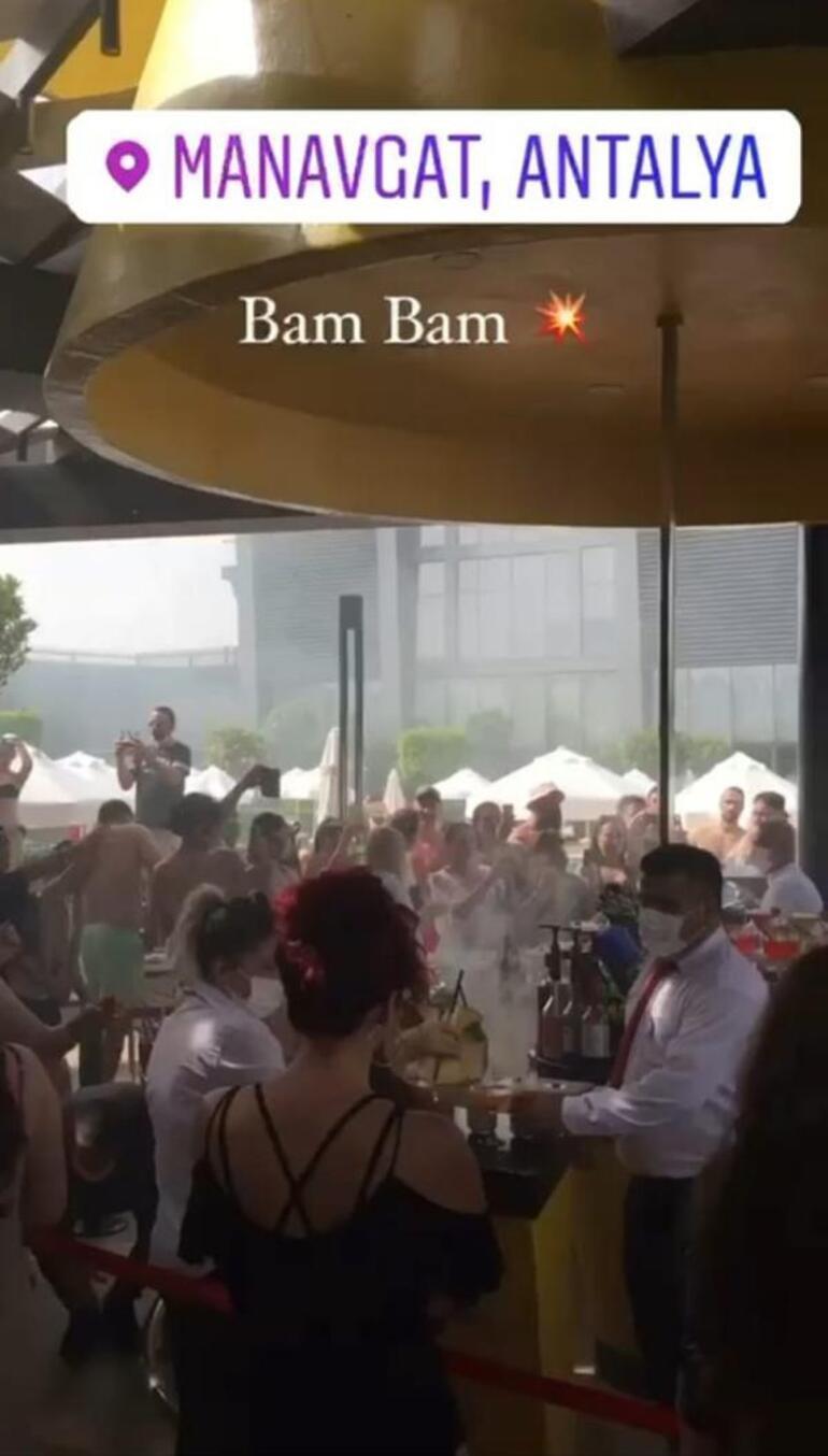 Tam kapanmada parti görüntüleriyle tepki çeken Manavgat'taki otel kapatıldı