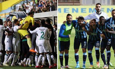 Adana Demirspor ile GZT Giresunspor Süper Lig'e yükseldi