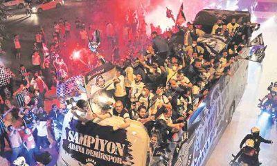 Adana Demirspor'un şampiyonluk kutlamasında kopan parmakları belediye işçisi buldu