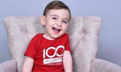 Başkan Böcek'ten SMA'li Ahmet bebeğe destek