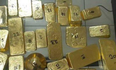 Bavulunda 6.5 milyon lira değerinde 23 külçe altınla yakalandı
