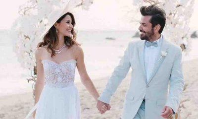 Kenan Doğulu evlilik yıl dönümünde Beren Saat'e aşkını haykırdı