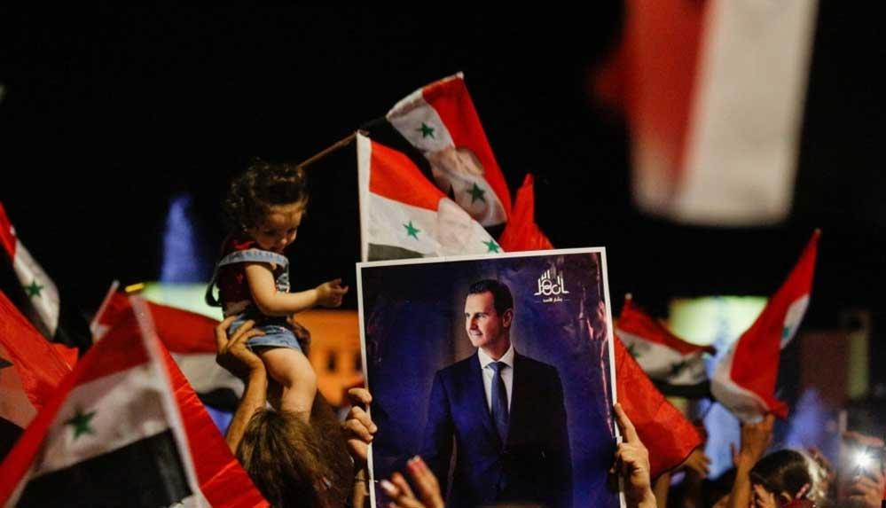 Beşar Esad, devlet başkanlığı seçimlerini oyların yüzde 95'ini alarak kazandı