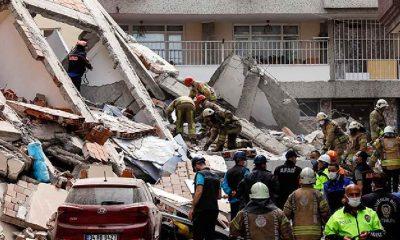 Binalar deprem olmadan çöküyor!