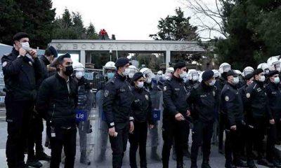 Boğaziçi Üniversitesi 'gözaltında'