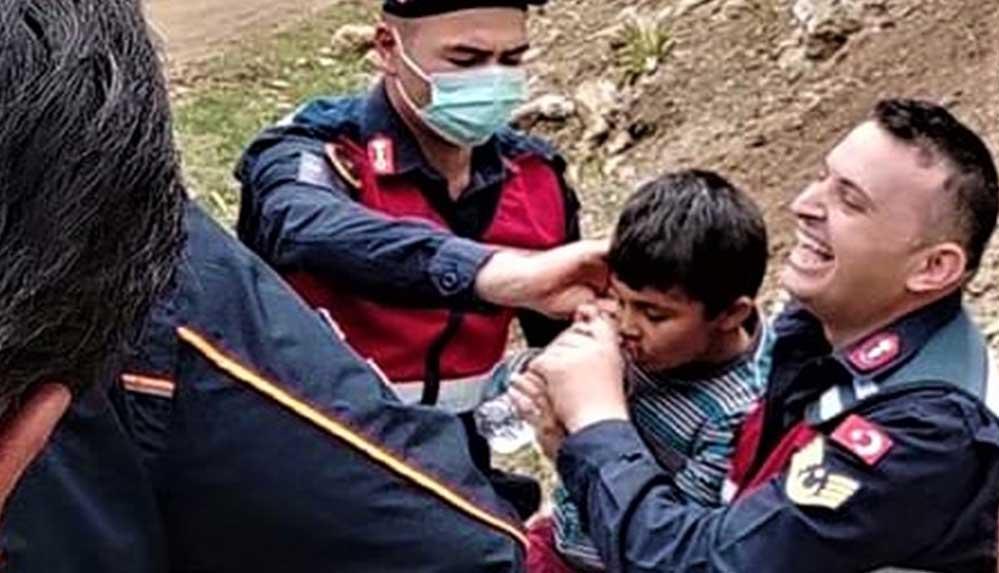 Burdur'da kaybolan otizmli Kerim Can Güney 46 saat sonra bulundu
