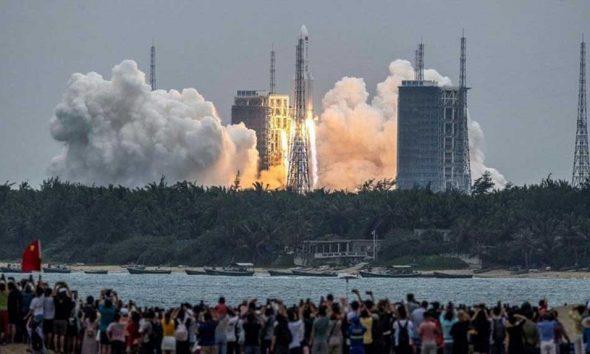 Çin'in kontrolden çıkan roketi bugün Dünya'ya düşecek