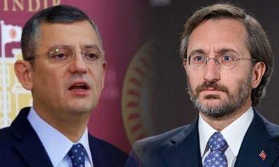 CHP'li Özgür Özel'den, Fahrettin Altun'a sert tepki: Hadsiz, şuursuz...