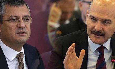 CHP'li Özel'den, Soylu'ya tepki: Siyasetçi ile mafya arasındaki ilişkiyi biliyor ama adım atmıyor
