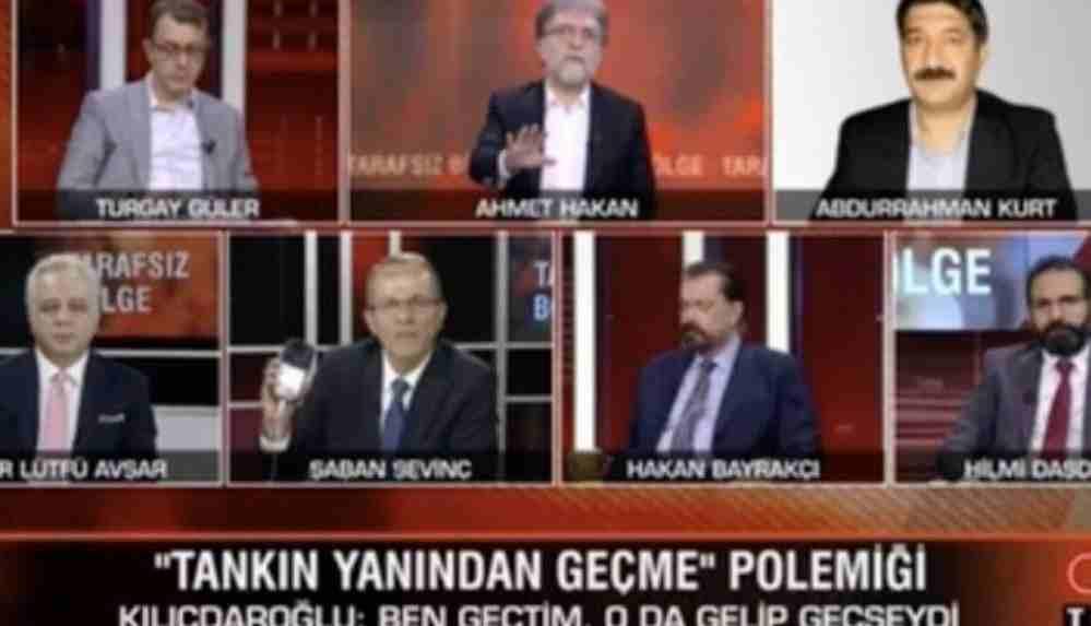 """CNN Türk yayınında FETÖ tartışması: """"Siz utanmaz bir adamsınız"""""""