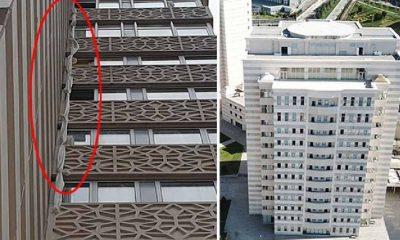 Çarşafla karantinadan kaçmaya çalışan kişi 6'ncı kattan düştü