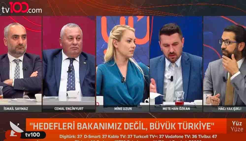 Cemal Enginyurt, Akit yazarına 'Ak Türkçe' dedi, sosyal medyanın gündemine oturdu