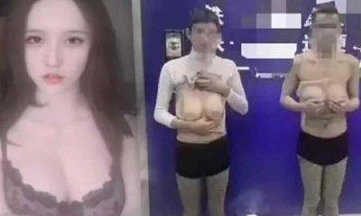 Çin polisinden, 'sahte göğüs' takarak şantaj yapan erkek dolandırıcılar konusunda uyarı
