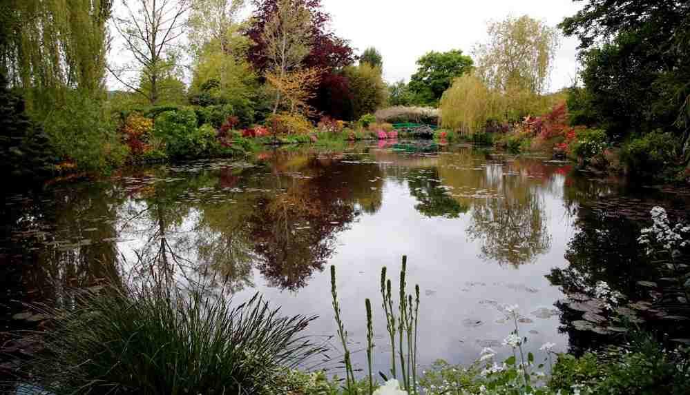 Claude Monet'nin bahçesi ziyarete açıldı