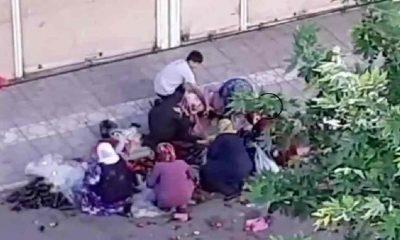 Çöpe atılan yiyecekleri topladılar: 'Yöneticiler utansın'