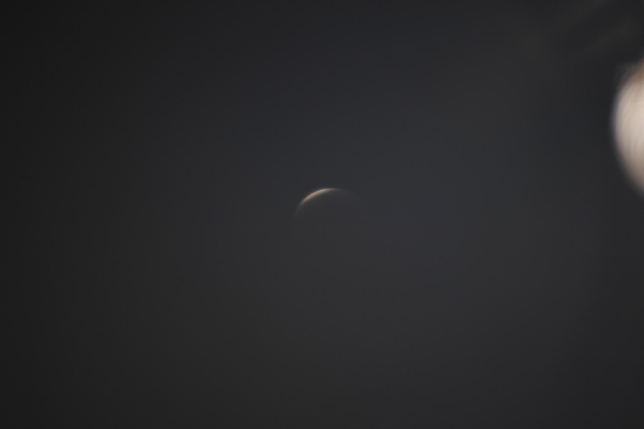 NASA, Süper Ay tutulmasının uzaydan görüntüsü paylaştı