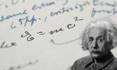 Einstein'ın E=mc² formülünü içeren el yazma mektubu 1,2 milyon dolara satıldı
