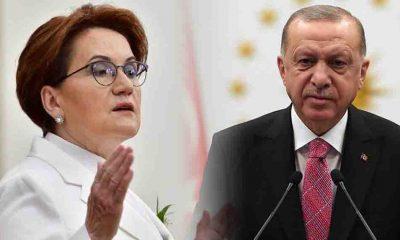 Akşener'den Erdoğan'a: Sen daha dur, senin deyiminle bunlar daha iyi günlerin