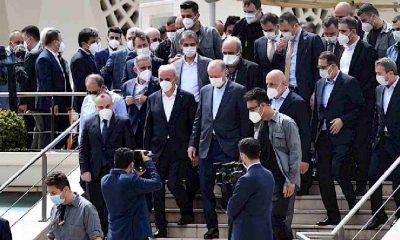 Erdoğan'ın katıldığı 'lebaleb cenaze töreni' hakkında suç duyurusu