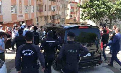 Eyüp'te Ekrem İmamoğlu'na protesto