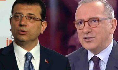 Fatih Altaylı: Galiba birileri İmamoğlu'nu cumhurbaşkanı adayı yapmak istiyor
