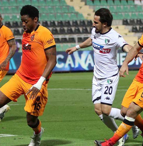 Galatasaray Denizli'den 3 puanla döndü, liderliğe ortak oldu