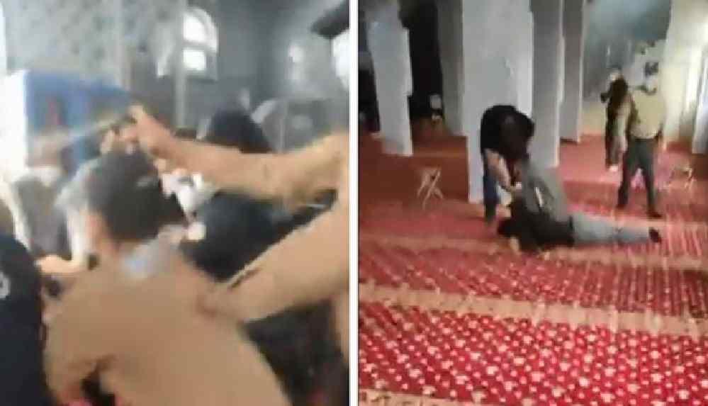 Gerici Furkan Vakfı'nın üyelerine camide biber gazlı müdahale