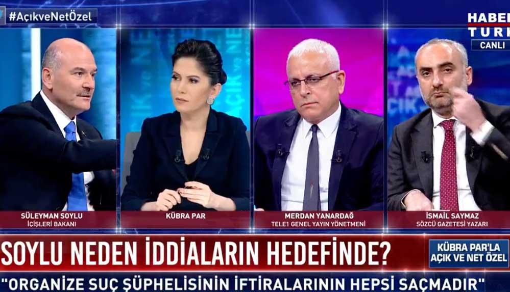 İçişleri Bakanı Süleyman Soylu, canlı yayında soruları yanıtlıyor