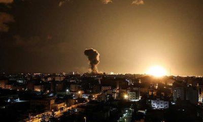 İsrail Gazze'ye hava saldırısı başlattı: Kentin birçok noktasında siren sesleri yükseliyor