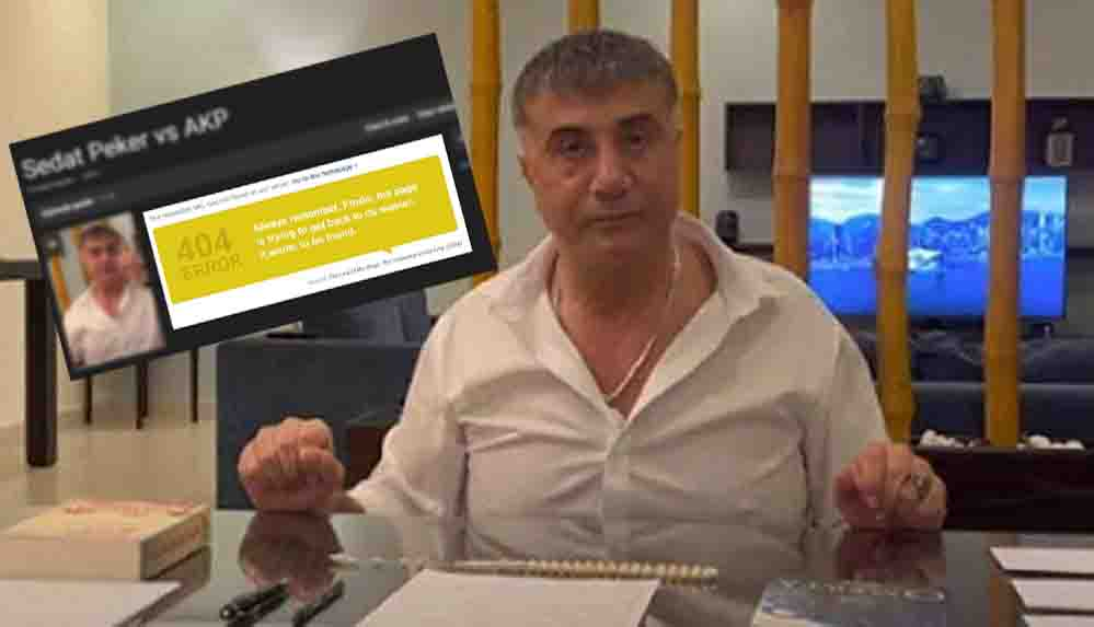 IMDb, Sedat Peker sayfasını yayından kaldırdı