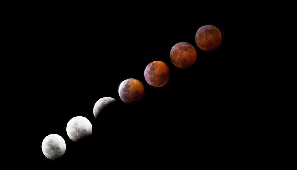 İki olay bir anda yaşanacak: Süper Çiçek Kanlı Ay ne zaman?