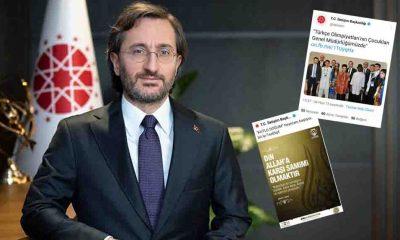 İletişim Başkanlığı, çok sayıda FETÖ paylaşımlarını sildi