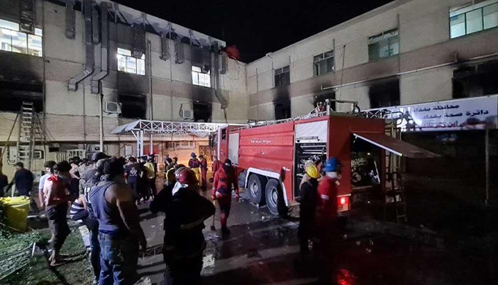 Hastane yangınında 82 kişi can vermişti, Sağlık Bakanı istifa etti