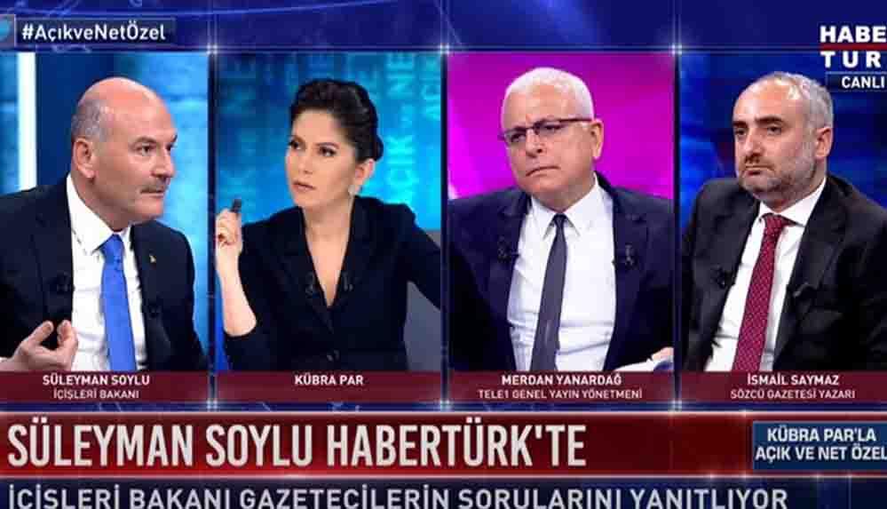 """İsmail Saymaz, Habertürk yayınında yaşananları anlattı: """"Polis ordusuyla geldi"""""""