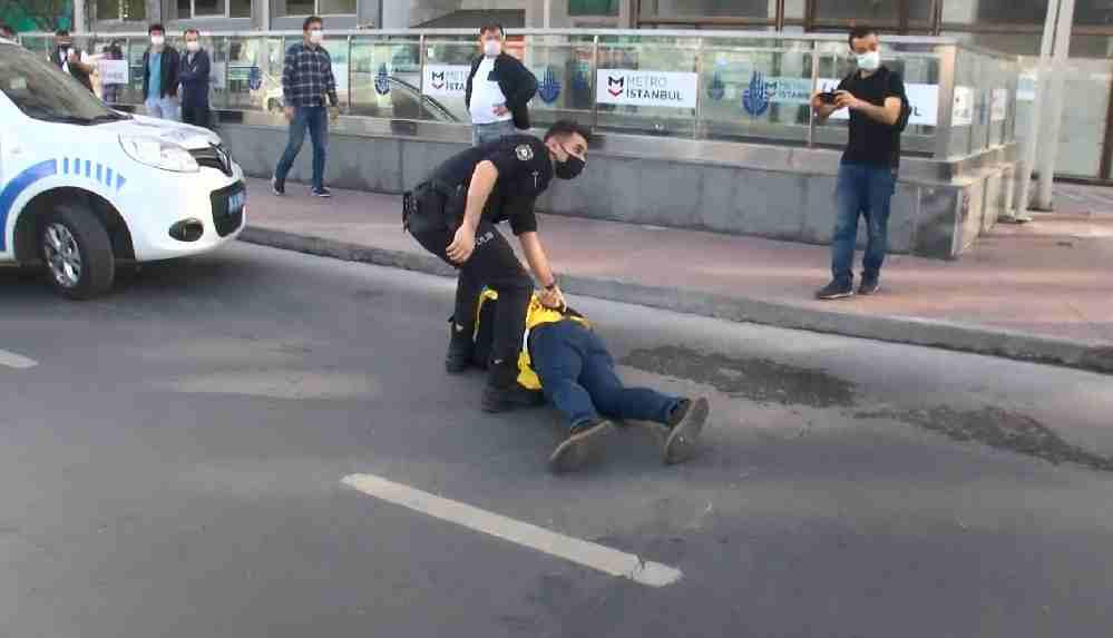İstanbul'da 1 Mayıs: Taksim'e yürümek isteyenlere polis müdahalesi!