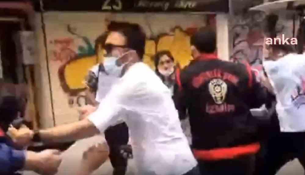 İzmir'de 1 Mayıs yürüyüşüne sert müdahale
