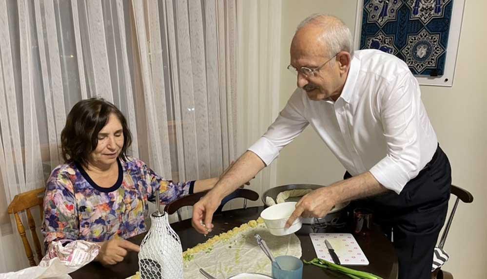Kılıçdaroğlu ailesinin bayram hazırlığı