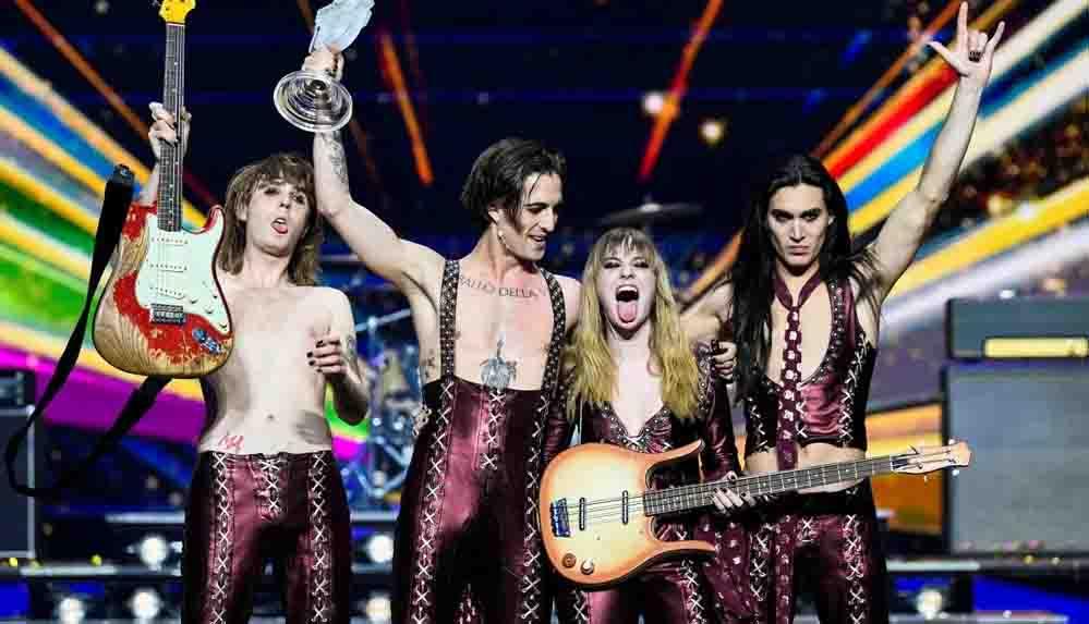 Kokain kullandığı iddia edilen Eurovision birincisi grubun solisti Damiano David İtalya'da uyuşturucu testi yaptıracak