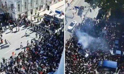 Kupa töreni öncesi Beşiktaş'ta şampiyonluk kutlamaları başladı