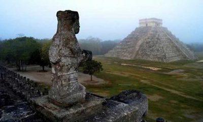 Meksika'da bir mağarada Maya uygarlığına ait olduğu düşünülen el izleri bulundu