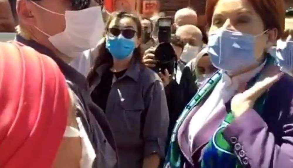Meral Akşener'in İkizdere ziyaretinde gergin anlar... O soruya sinirlendi!