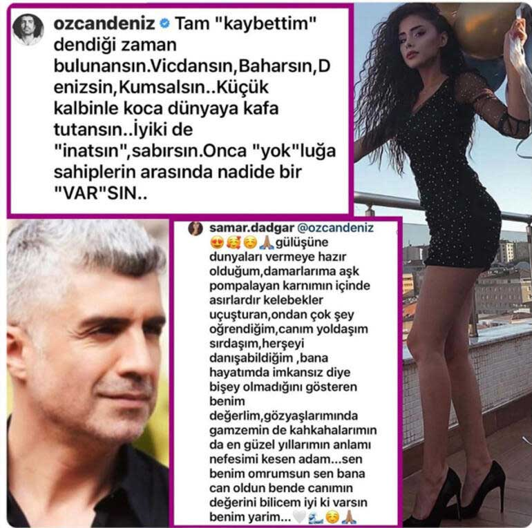 Özcan Deniz, İranlı modacıya aşkını ilan etti: Vicdansın, Baharsın, Denizsin, Kumsalsın...