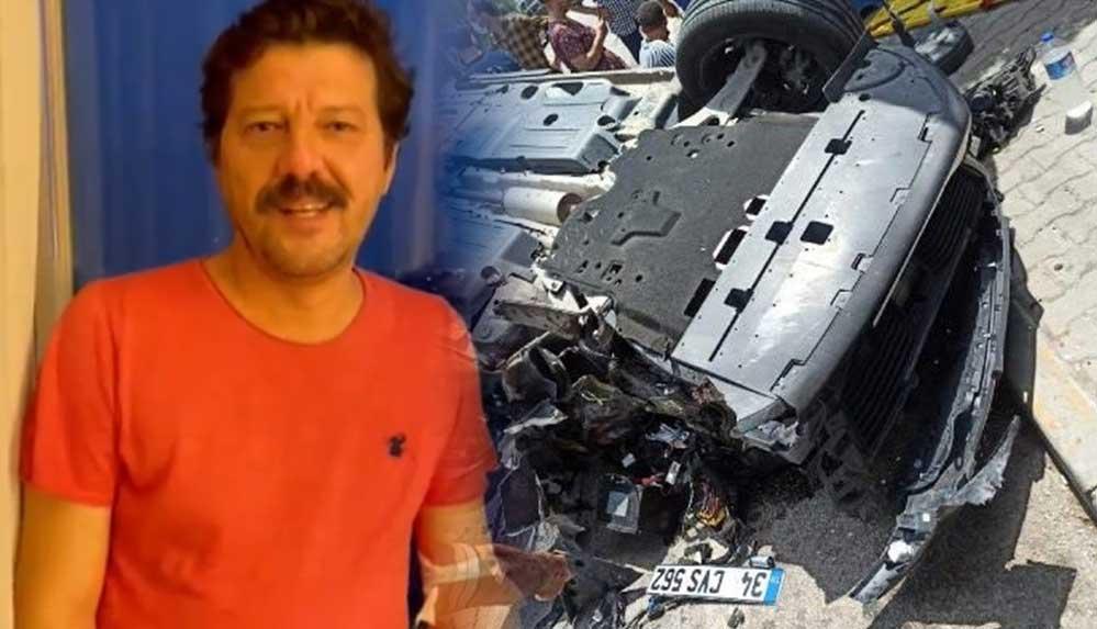 Otomobili takla atan İlker Aksum: Görüntüleri görünce anladım