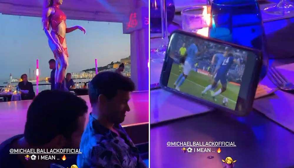 Şeyma Subaşı'dan Michael Ballack paylaşımı: Dans gösterisini bıraktı, Şampiyonlar Ligi finalini izledi