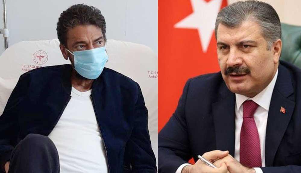 Sağlık Bakanı Koca'dan Hakan Taşıyan açıklaması
