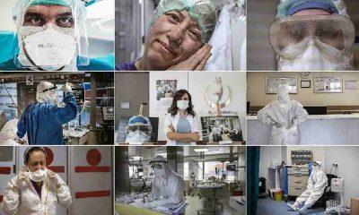 Sağlık çalışanlarının özverisini 30 kareye sığdırdı