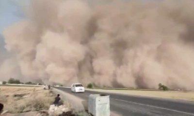Şanlıurfa'da kum fırtınası