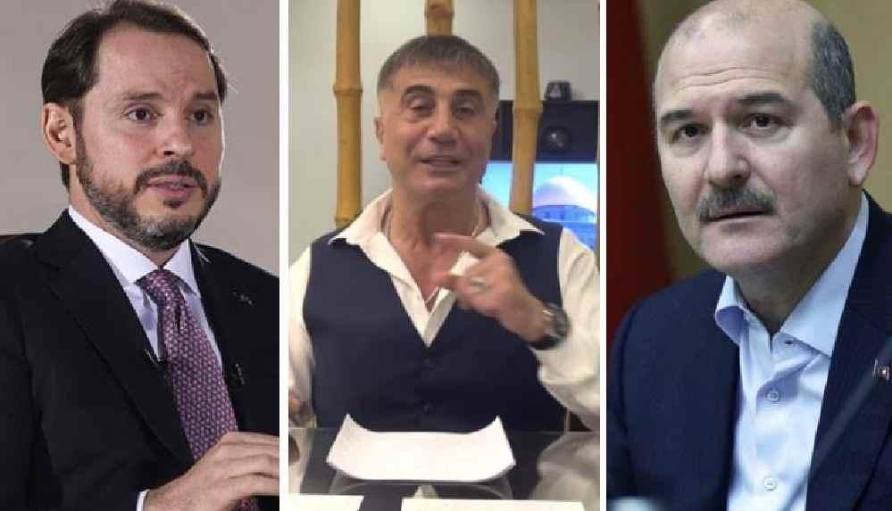"Sedat Peker, Süleyman Soylu'ya seslendi: ""Berat Bey'e sen beni düşman etmedin mi?"""